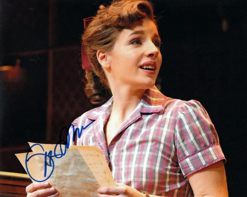JESSIE MUELLER.. Broadway's Carole King (Beautiful) SIGNED