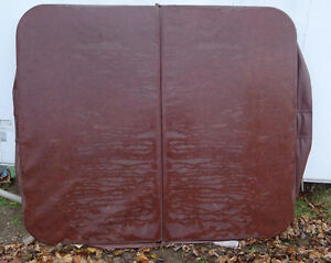"Used Hot Tub Spa Cover. 80"" x 70"" with 8"" Corner Radius"