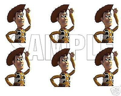 Toy Story Edible Party Image Cupcake Topper Frosting Icing Sheet Circles