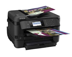 NEW Epson WF-7720 Wireless WI-FI Color Inkjet Printer