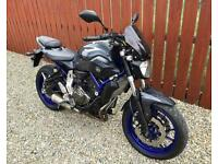 YAMAHA MT-07 - 1 OWNER 11,000 MILES FULL SERVICE HISTORY PRISTINE CONDITION - PX