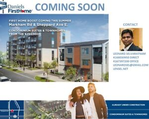 CondoSuites & Townhomes From the $290,000s MarkhamSheppard