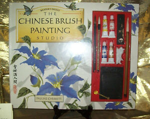The Chinese Brush Painting Studio Book Kit Pauline Cherrett London Ontario image 1