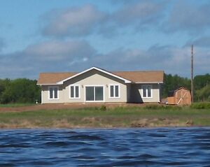 Ocean front cottage on Northumberland Strait