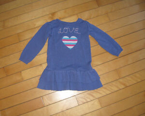 Childrens Place size 4 sweater dress