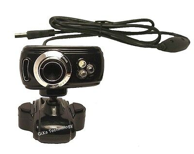 WD100 16 MP Mega Pixel HD USB Webcam mit Mikrofon Notebook PC Kamera für Skype
