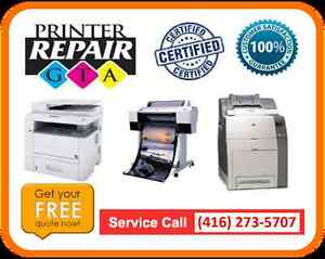 Laser Printer Repair and Services in Greater Toronto Area