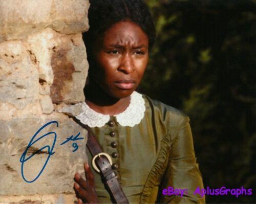 CYNTHIA ERIVO.. Oscar Hopeful: Harriet - SIGNED