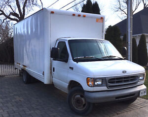1998 Ford CTV E350 Box Truck / Cube Van