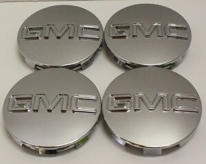"GMC Sierra Yukon Denali Center Caps GM 9595759 Fits 18"",20"",22"""