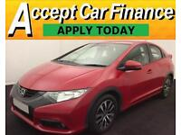 Honda Civic 1.6i-DTEC ( 120ps ) 2013MY ES FROM £41 PER WEEK!