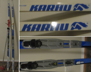 Cross Country Skis (195cm) - Great Condition! - (w/ poles, etc)