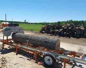 Portable Sawmilling services right to your door! Kawartha Lakes Peterborough Area image 1