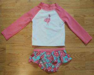 18-24m Gymboree Flamingo 2pc Swimsuit