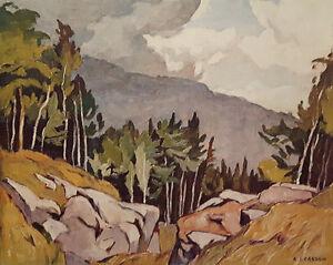 "A.J. Casson ""Near Rockingham"" Lithograph - Appraised at $700"