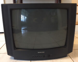"""25""""Samsung TV with VCR"""