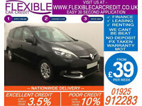 2013 RENAULT GRAND SCENIC 1.5 TD DYNAMIQUE GOOD BAD CREDIT CAR FINANCE AVAILABLE
