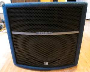 Yorkville powered subwoofer pulse ps210p