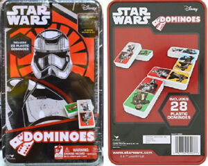 Star Wars Collector Steel Case Dominoes or LucasFilm Poker Cards