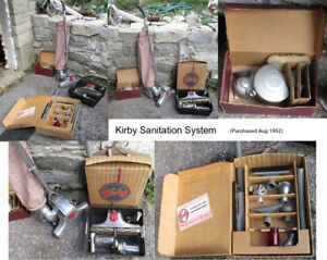Vintage Kirby Vacuum Cleaner Sanitation System