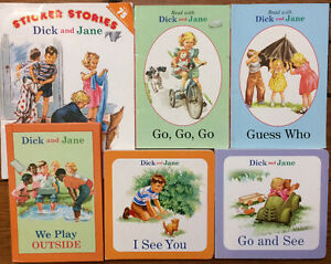 DICK AND JANE picture books 6 for $15