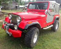 Immaculate Jeep CJ Convertible