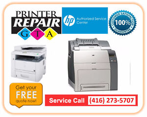 Fast Low Cost HP Printer Repair Service in Greater Toronto Area