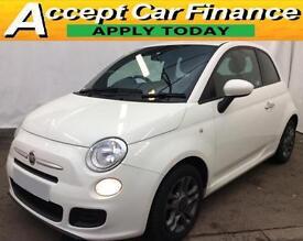 Fiat 500 1.2 ( 69bhp ) ( s/s ) S FROM £25 PER WEEK !