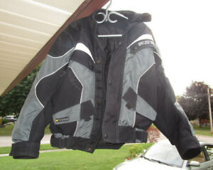 Woman's MotorCycle Jacket c/w Body Armour Insert Plates