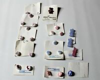 vtg Knitters Buttons for baby projects I Love You,Baby Boy/Girl