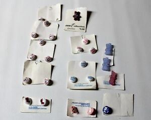 BUTTONS Lots baby projects I Love You, Boy/Girl Knitting vtg. Kingston Kingston Area image 6