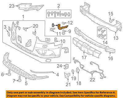 AUDI OEM 15-16 A3 Front Bumper Grille Grill-Side Retainer Right 8V5807184