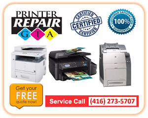 Certified MFC Printer Repair Service in Greater Toronto Area
