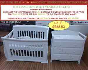 BABY CRIBS NEW YEARS SALE! BEST PRICES IN ONTARIO!