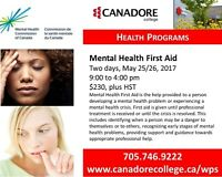 Parry Sound - Canadore College - Mental Health First Aid