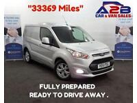 2015 15 FORD TRANSIT CONNECT 1.6 240 LIMITED 115 BHP SWB CLIMATE CONTROL/AIR CON