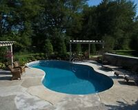 Swimming Pool Construction and Landscaping