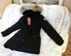 Canada Goose Black Parka XS fits like S