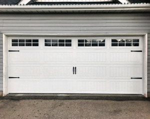 16x7 INSULATED GARAGE DOORS........ $1500