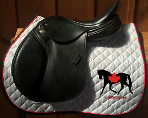 "16.5"" Schleese Eagle Close Contact Saddle"