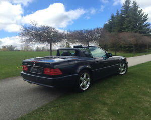 Classic Mercedes Benz sl500 convertible low km great condition