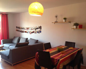 Modern 3 1/2 fully furnished - Plateau Mont Royal