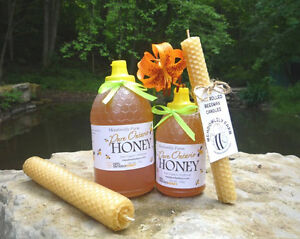 Raw Honey and Bees wax - Buy Local - support your neighbours! London Ontario image 7