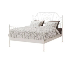 Ikea bed frame & mattress base (full/double)