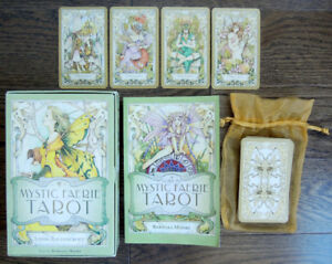 Mystic Faerie Tarot Book and Cards NEW Linda Ravenscroft