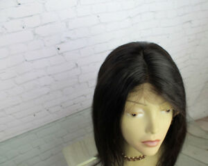 Perruque Lace Wig 100% Cheveux Humain 14po/ Lace Wig Human Hair