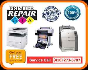 Licensed Laser Printer Repair Service in Greater Toronto Area