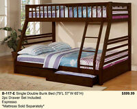 Looking for a Single over Double Bunk Bed ?