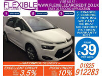 2014 CITROEN C4 PICASSO 1.6 E-HDI VTR+ GOOD / BAD CREDIT CAR FINANCE AVAILABLE