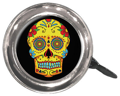 Bicycle Bell-Swell Bell-Sugar Skull